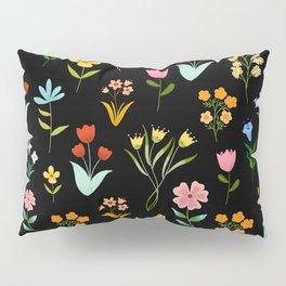 TINY LITTE COLORFUL  FLOWER PATTERN Pillow Sham