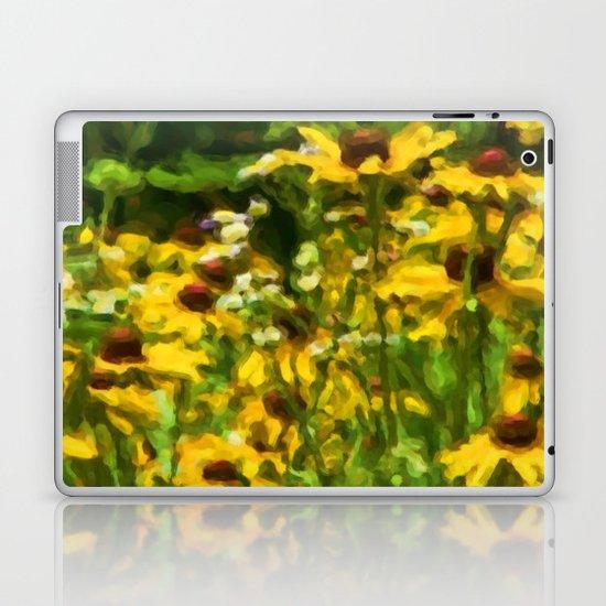 Wildflowers Painting Laptop & iPad Skin