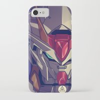 gundam iPhone & iPod Cases featuring Gundam Fan ART by Jaryd Vien Quiray