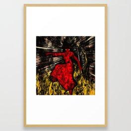 Salsa Night Framed Art Print