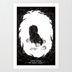 Little Acorns - The White Stripes Art Print