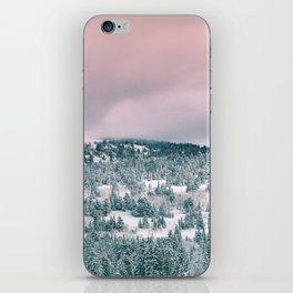 Blush Sky in Woodland Heights iPhone Skin