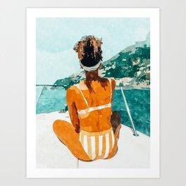 Solo Traveler Art Print