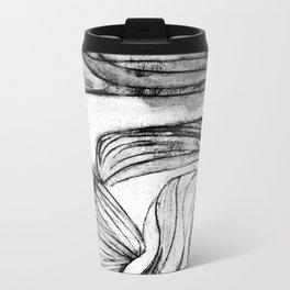 Onions (black and white) Metal Travel Mug