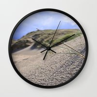 dune Wall Clocks featuring Dune by  Agostino Lo Coco