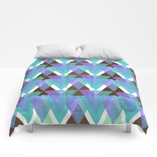 GlitterTriangles Comforters