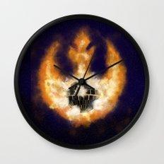 Death Star Destruction Wall Clock
