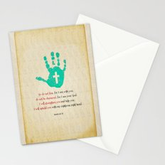 I will uphold you! Stationery Cards