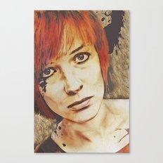 Miss Understood Canvas Print