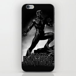 wakanda panther iPhone Skin