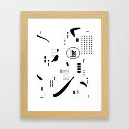 The Imprinting Framed Art Print
