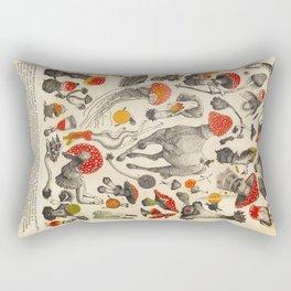 Magic & Mushrooms Rectangular Pillow