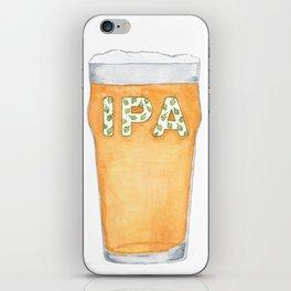 IPA Beer Pint iPhone Skin