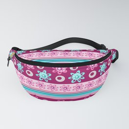 Happy Place Stripe in Pink Fanny Pack