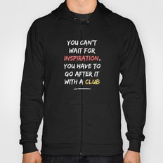 Go After Inspiration With A Club Hoody