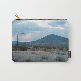 Blue Desert Landscape Carry-All Pouch