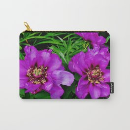 Purple Pasque Carry-All Pouch