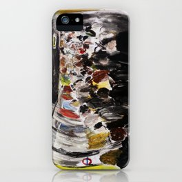London Underground Subway Going To Work Part 2 iPhone Case