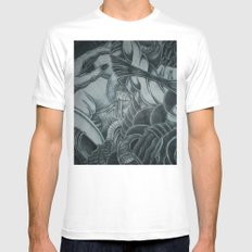 Women Of The Moon (Carnal Fantasy) Mens Fitted Tee White MEDIUM