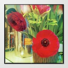 Cucina Blooms Canvas Print