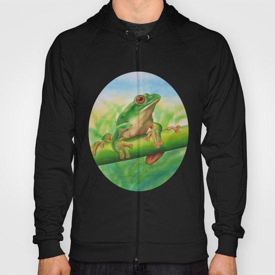 Green Treefrog Hoody