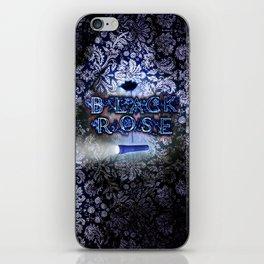 """Black Rose"" Game Title iPhone Skin"