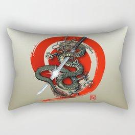 Dragon Katana2 Rectangular Pillow