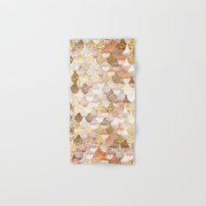 MERMAID GOLD Hand & Bath Towel