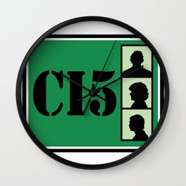 CI5 - The Professionals - Bodie & Doyle Wall Clock