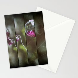 Glass And Good Luck Stationery Cards