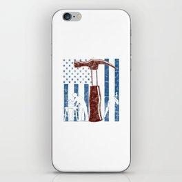 Carpenter iPhone Skin