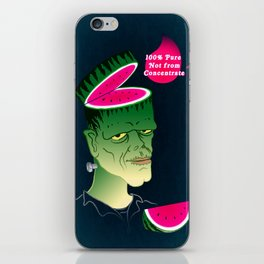 Frankenmelon 100% pure, not from concentrate! iPhone Skin