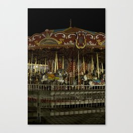 The Rides, The Carousel Canvas Print