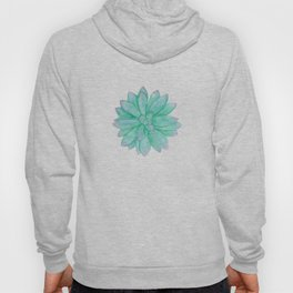 Pachyveria - Green and Red Succulent Hoody