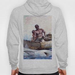 Shark Fishing,1885 - Digital Remastered Edition Hoody