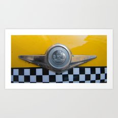 The Checker (symbol) Art Print