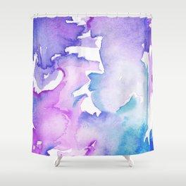 blue wash Shower Curtain