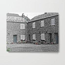 Almshouses Metal Print