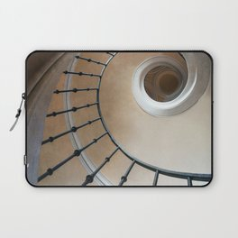 Pretty brown spiral staircase Laptop Sleeve
