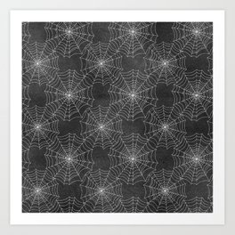 Spider Webs Art Print