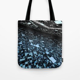 In 2048, nature will change to a digital intelligent world Tote Bag