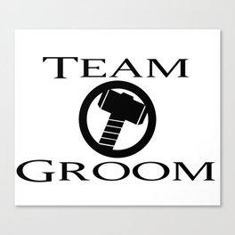 Team Groom Thor Canvas Print