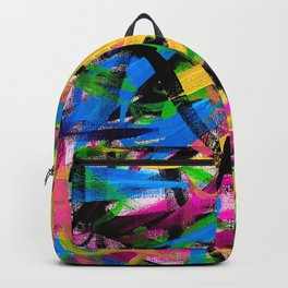 Color Abstraction v.2 Backpack