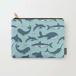 Cute Sea Creatures Pattern Carry-All Pouch
