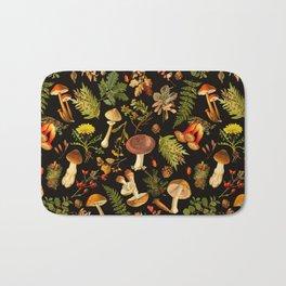 Vintage & Shabby Chic - Autumn Harvest Black Bath Mat
