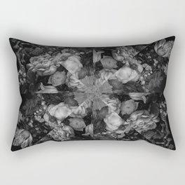 Botanical Darkness Kaleidoscope Rectangular Pillow