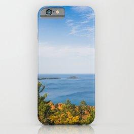 Autumn Shores iPhone Case