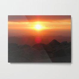 eye of the sun (mt evans) Metal Print