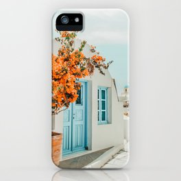 Greece Airbnb #photography #greece #travel iPhone Case