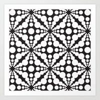 dot Art Prints featuring DOT by Vadeco